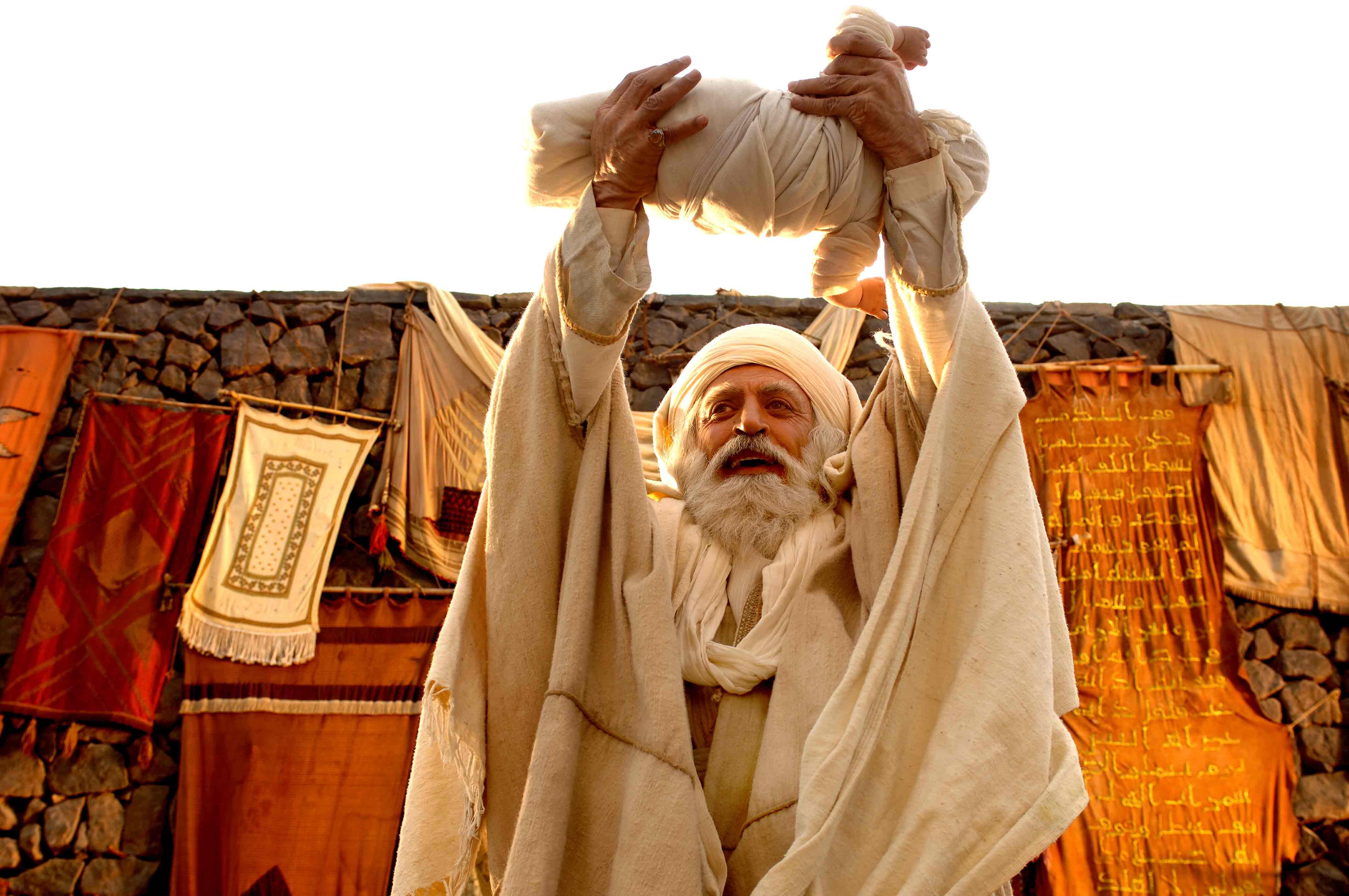 لحظه بدنیا آمدن محمد(ص) در فیلم محمد رسولالله